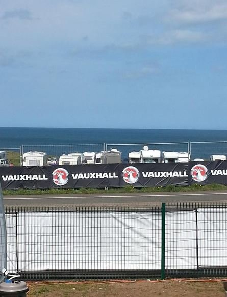 View from the press pit NW200