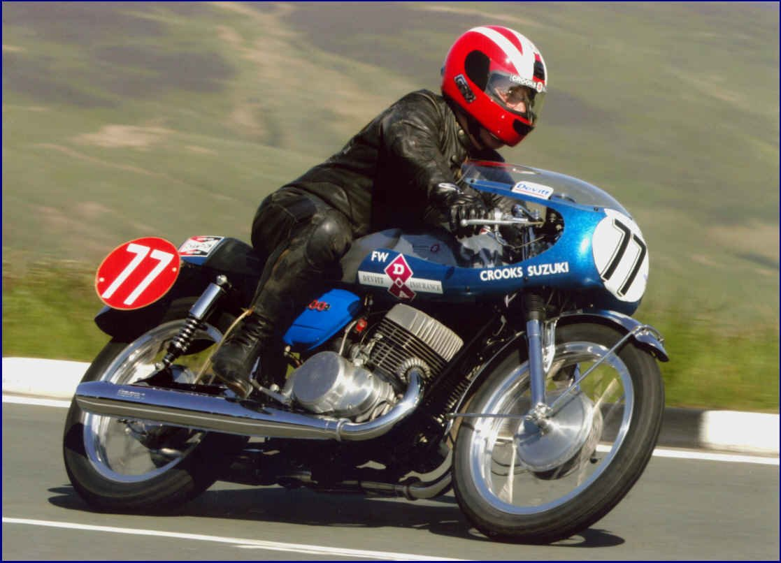 motorcyclist Frank Whiteway