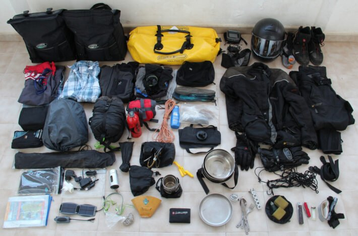 What to pack for your trip. Credit: Flickr