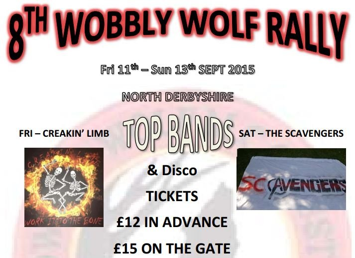 Wobbly wolf rally event