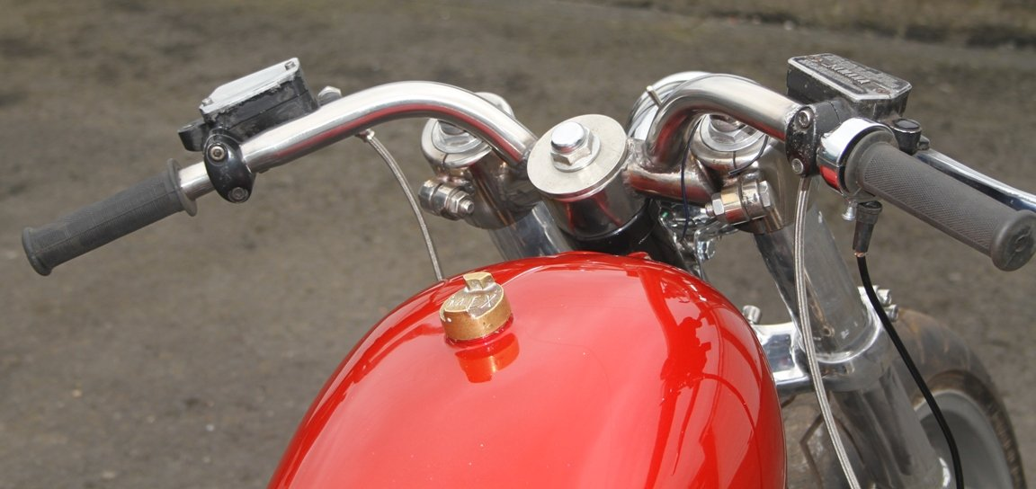 one piece motorcycle bars