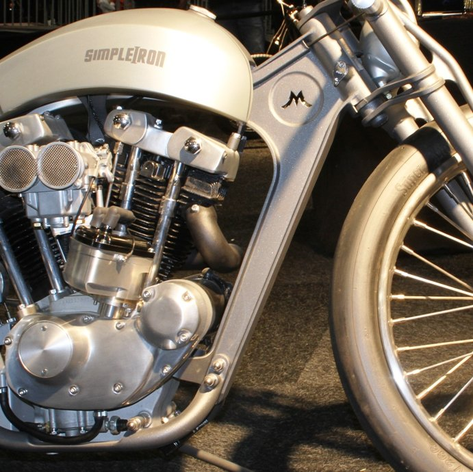 out of round motorcycle modification