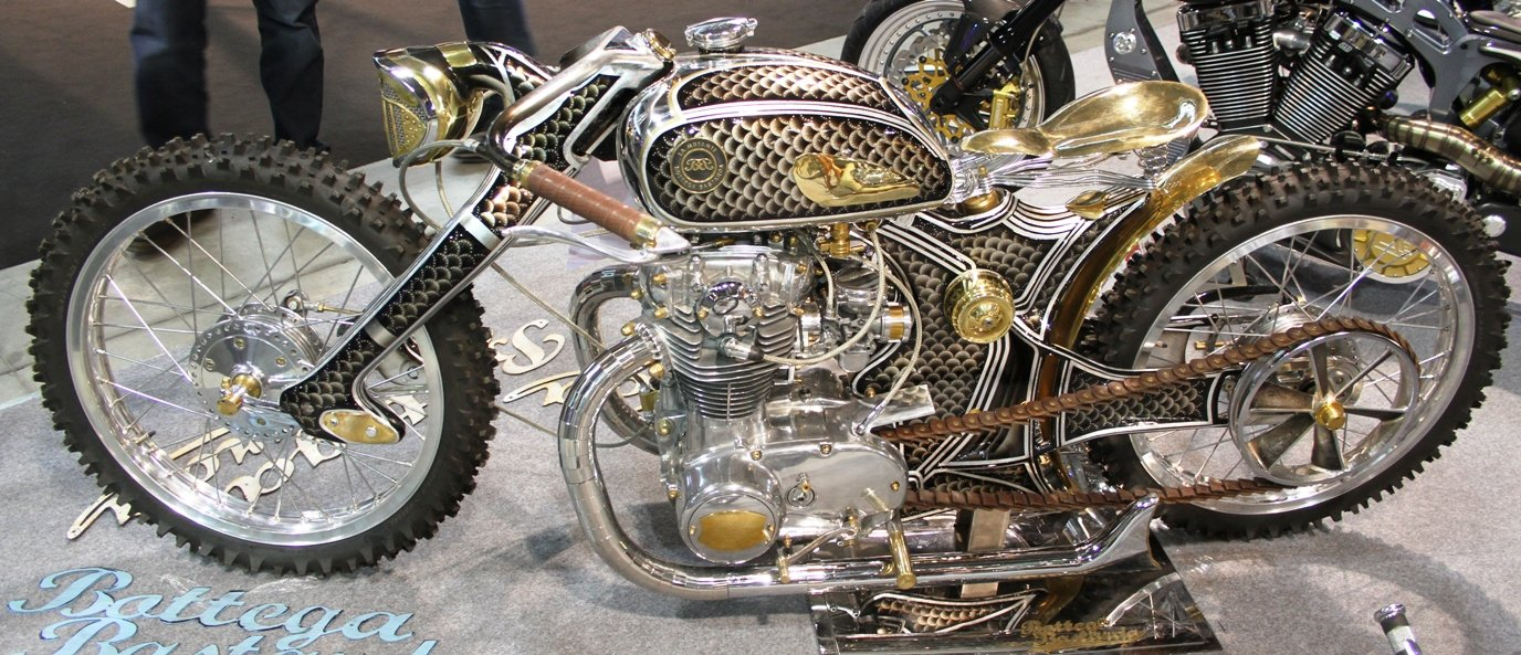 Modified motorcycle