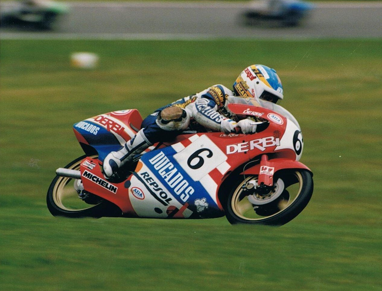 Alex Criville at Assen, 1988. Credit: Phil Wain's Family Archive