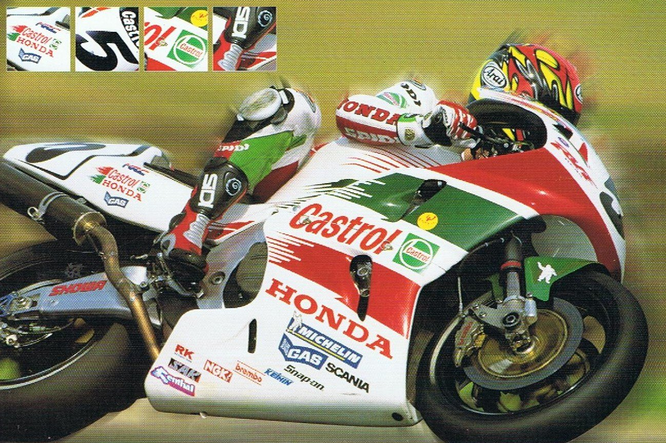 Colin Edwards 1999. Credit: Official Team Postcard