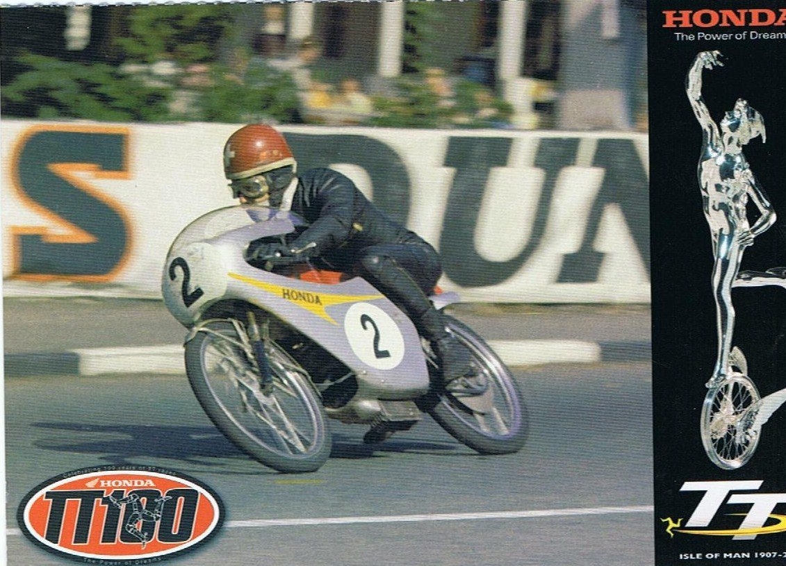 Luigi Taveri - Isle of Man TT - 1966. Credit: Phil Wain's Family Archive