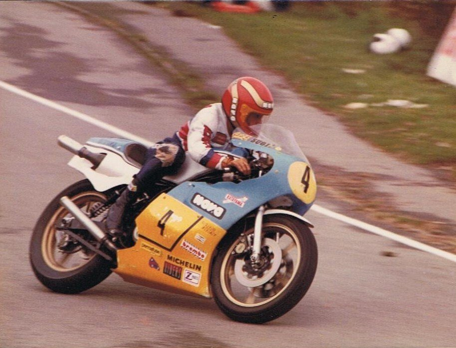 Takazumi Katayama - Scarborough - 1980. Credit: Phil Wain's Family ArchiveTakazumi Katayama - Scarborough - 1980. Credit: Phil Wain's Family Archive
