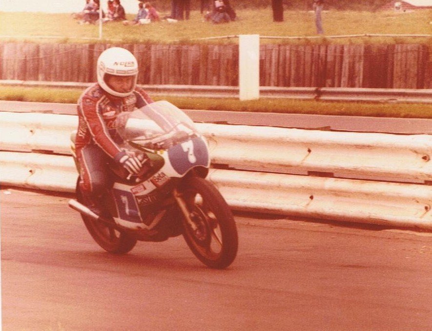 Walter Villa at Silverston, 1980. Credit: Phil Wain's Family Archive