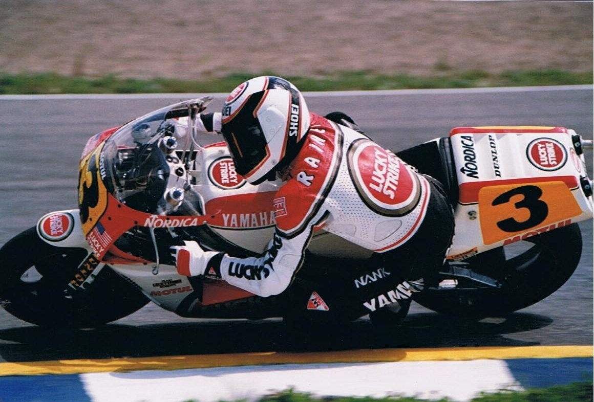 Wayne Rainey - Jerez - 1989. Credit: Phil Wain's Family Archive