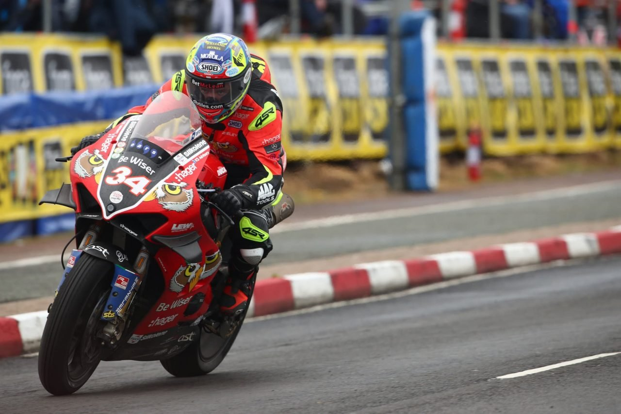 Seeley at the North West 200 in 2019