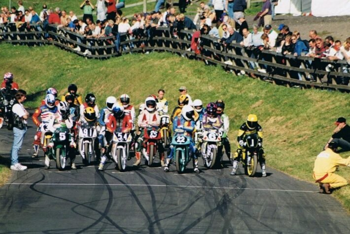 Start and Finish at Oliver's Mount credit Phil Wain's Family Archive