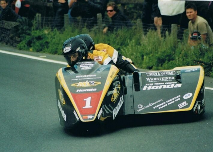 Dave Molyneux with Dan Sayle in 2004