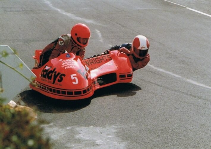Eddy Wright in 1989 at Oliver's Mount credit Phil Wain's Family Archive
