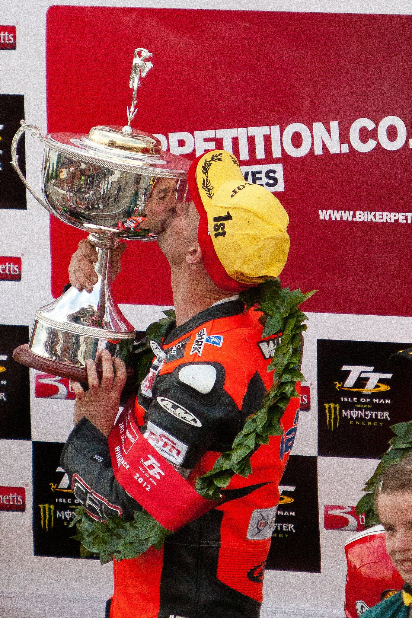 Ryan Farquhar gets to know the Lightweight TT trophy image from Phil Long on flickr