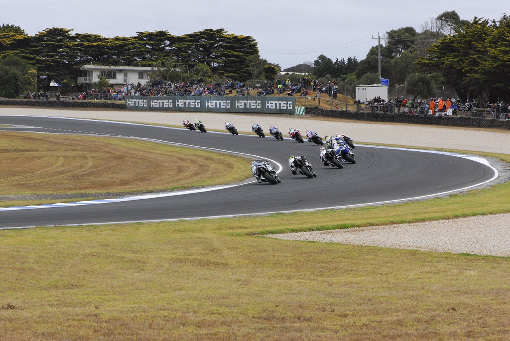World Superbike at Phillip Island, 2009 credit p2e ptooey flickr