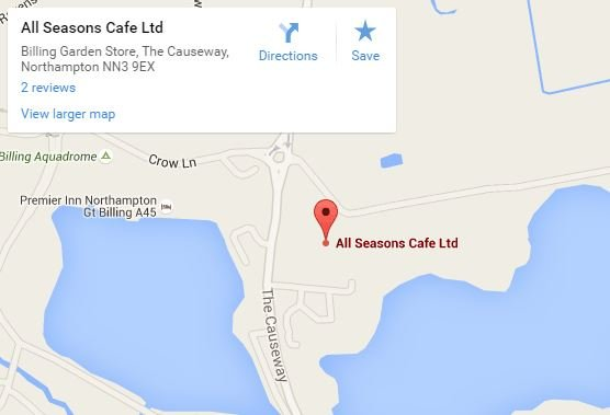 All Seasons Cafe map