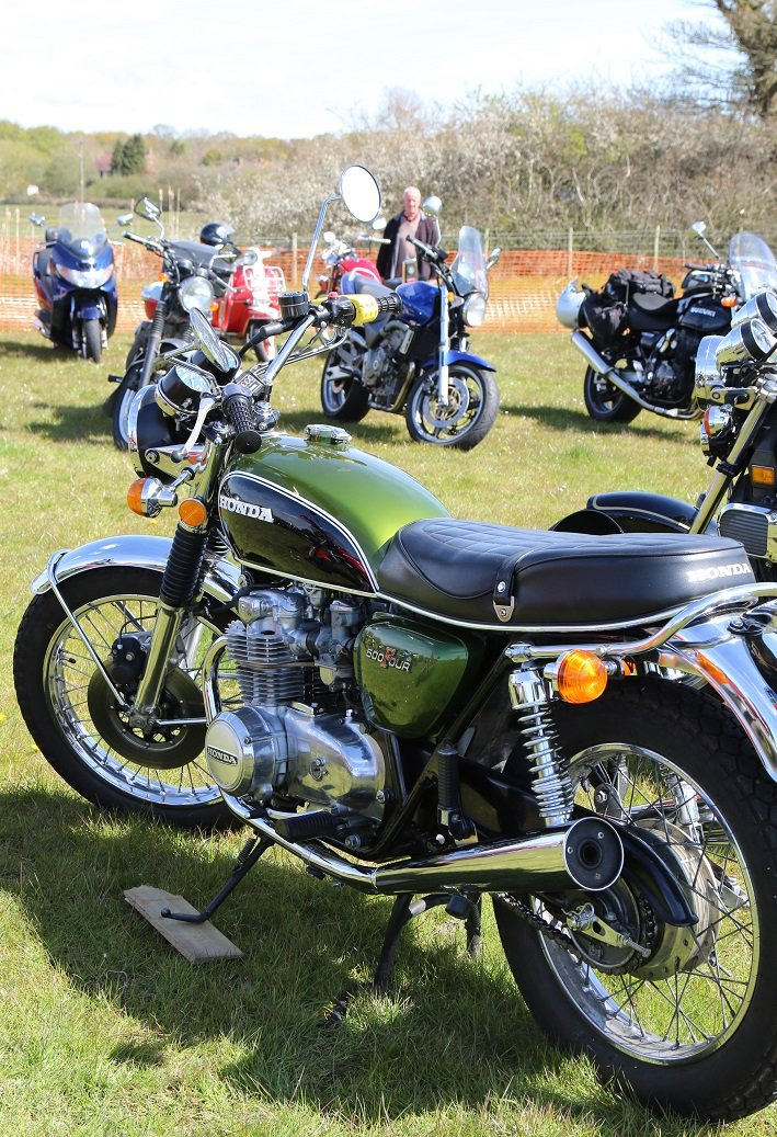 Romney March Classic Motorcycle Show and BikeJumble