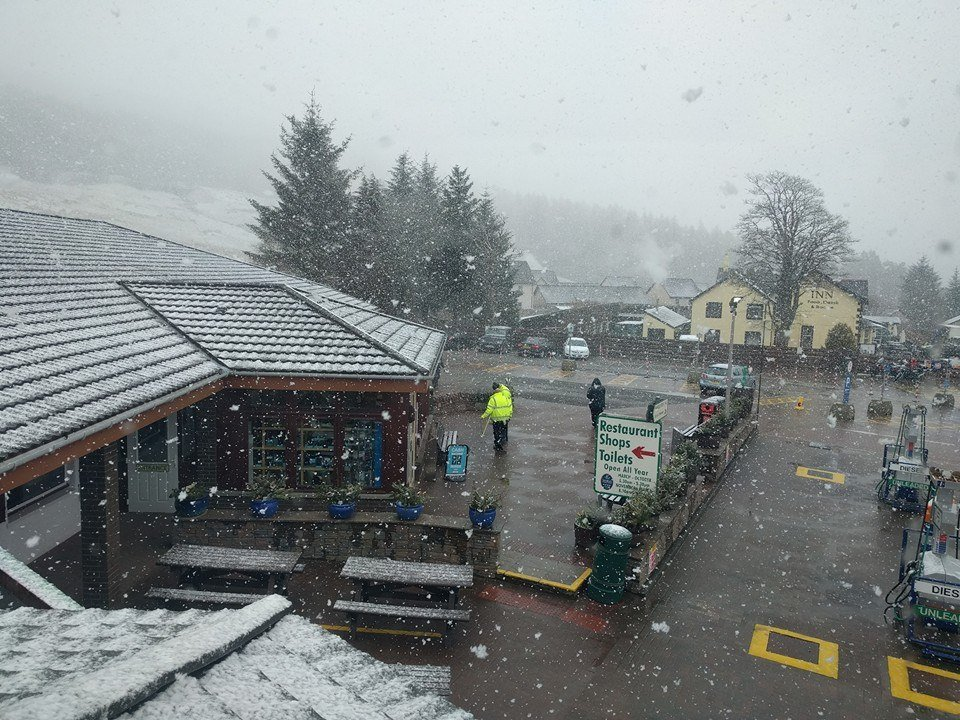 Snow at Green Welly credit FB