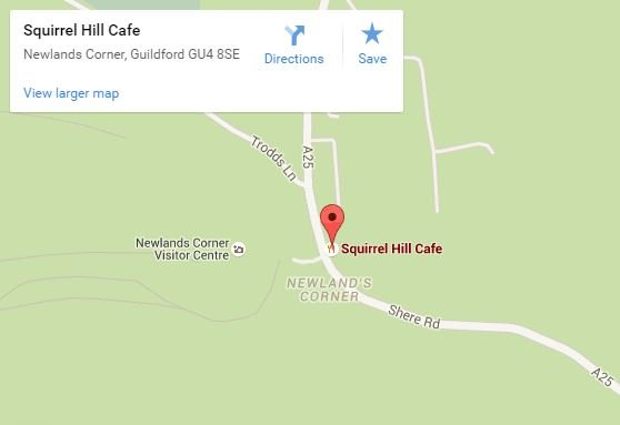 Squirrel Hill Cafe map