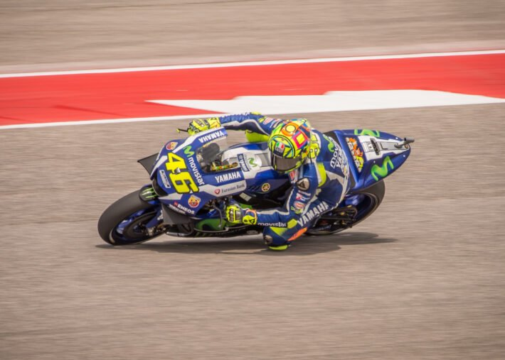 Valentino Rossi image courtest of Joe McGowan on flickr