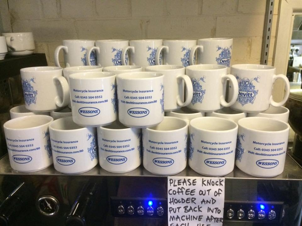 Devitt mugs at Wessons Cafe credit Facebook