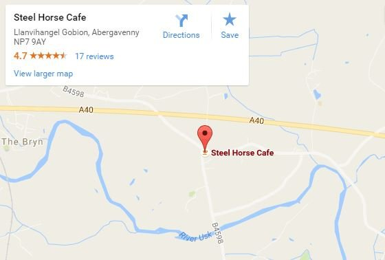 Steel horse cafe map