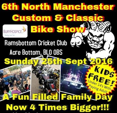 The North Manchester Custom and Classic Bike Show