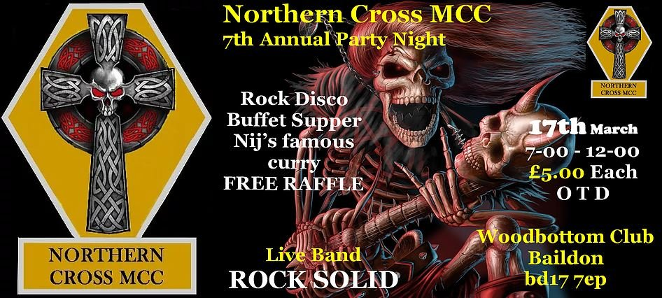 Northern Cross MCC 7th Annual Party Night