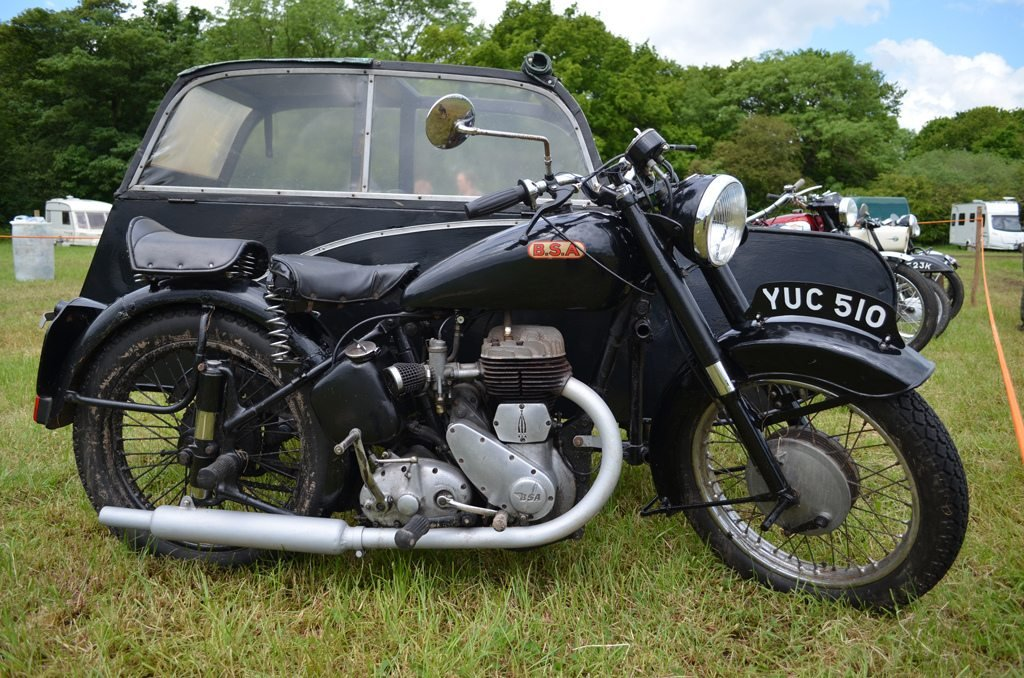 BSA M21 1960 image credit Steve Glover on flickr