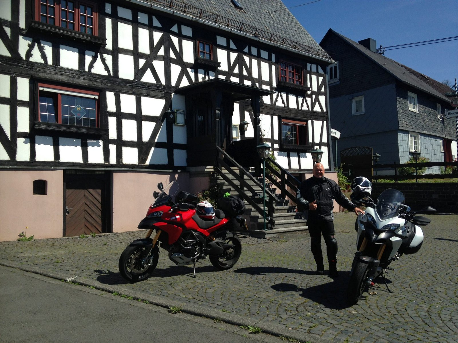 Carl Jones – Ducati Multistrada 1200S