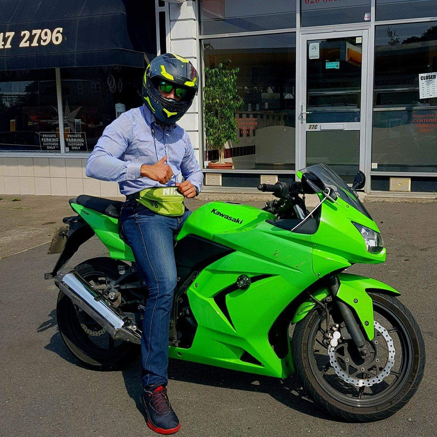 Nick from London – Kawasaki Ninja 250R