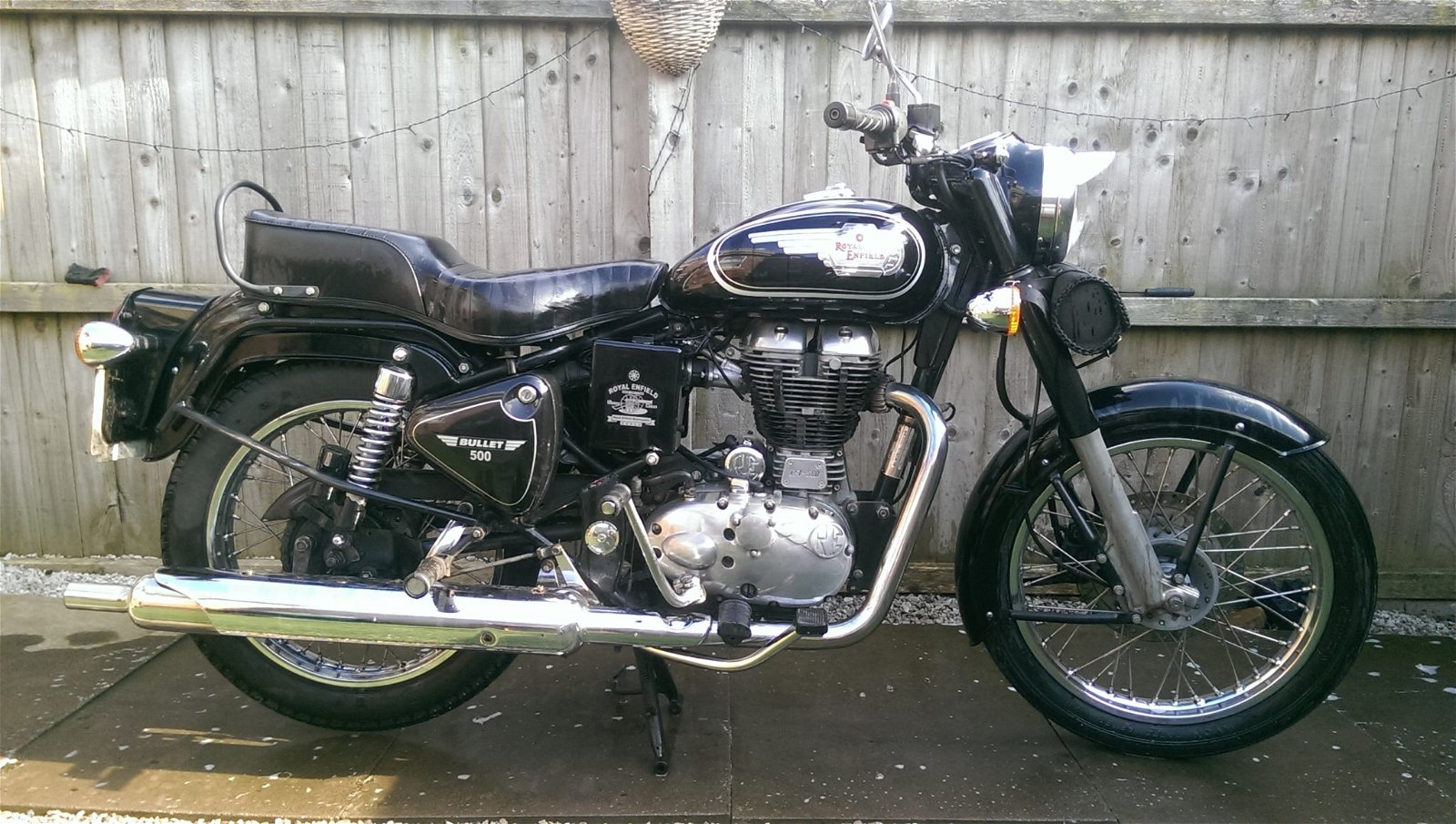 Richard – Royal Enfield Bullet 500