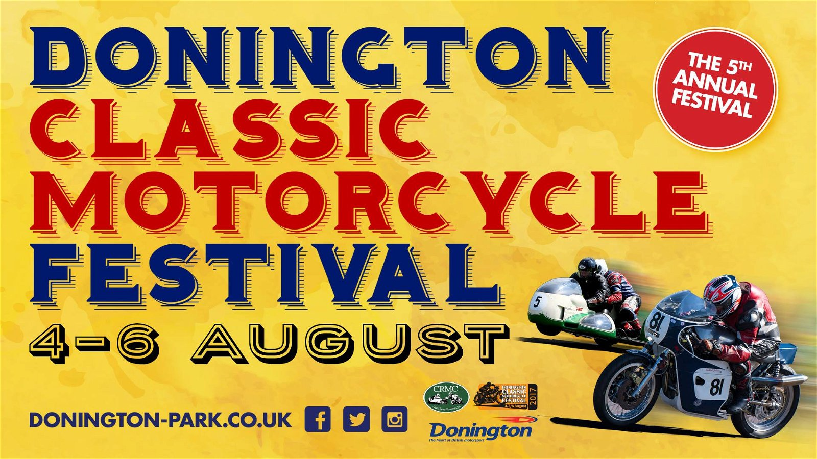 Donington Classic Motorcycle Festival, August 2017