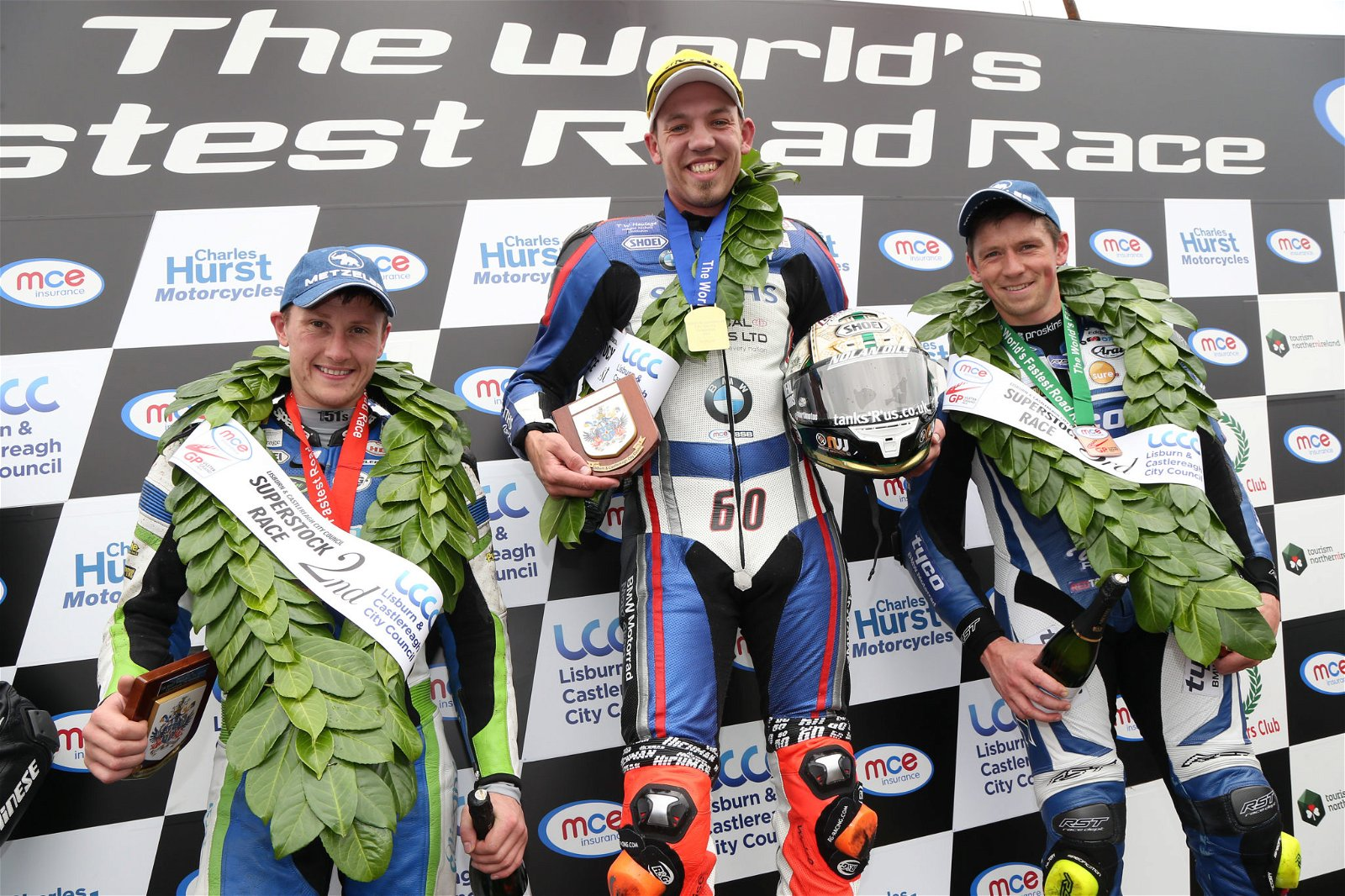 Hickman takes the Ulster GP Superstock title, image credit Pacemaker Press InternationalHickman takes the Ulster GP Superstock title, image credit Pacemaker Press International