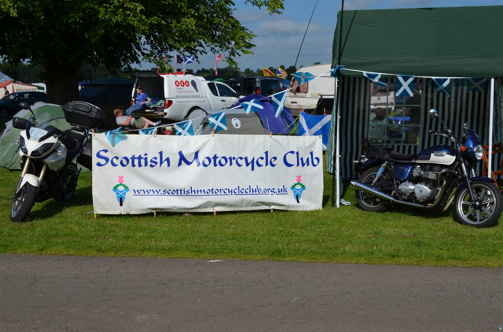 Scottish Motorcycle Club credit Facebook page