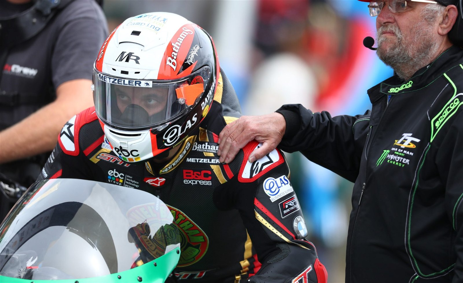 Michael Rutter at the TT credit Double Red
