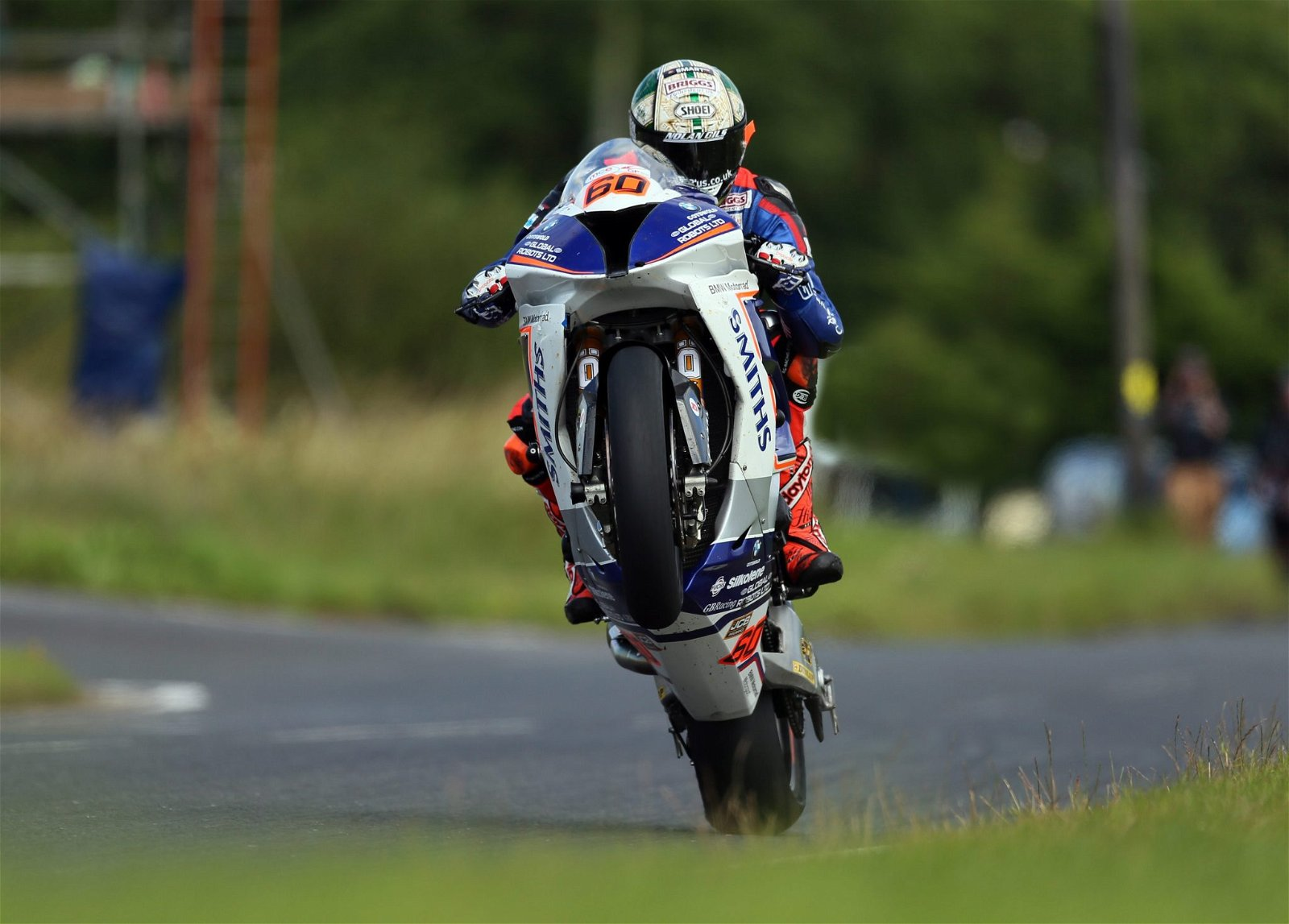 Peter Hickman was the star man at the Ulster GP credit Pacemaker Press International