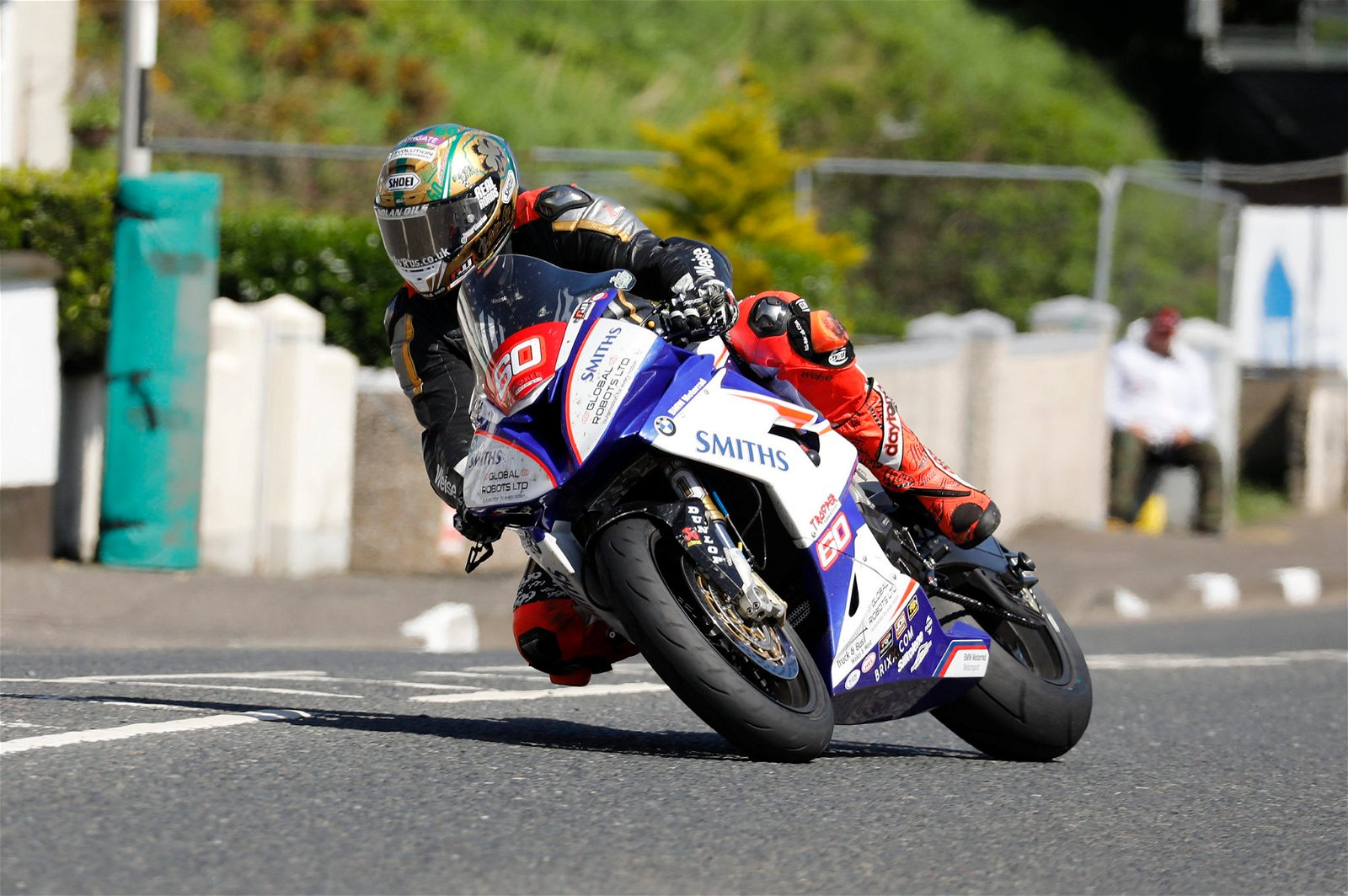 Hickman had a mixed weekend in terms of results credit Double Red