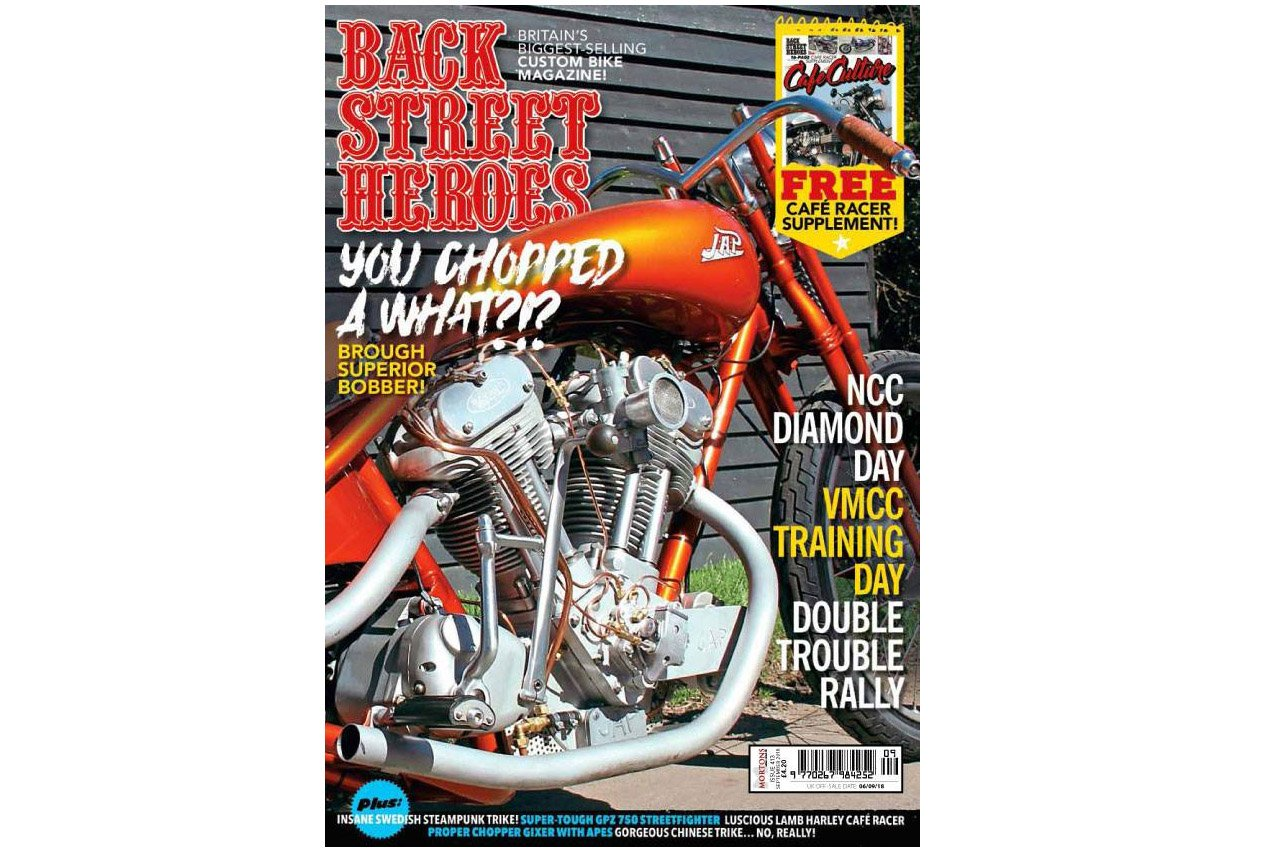 Back Street Heroes Magazine Front Cover