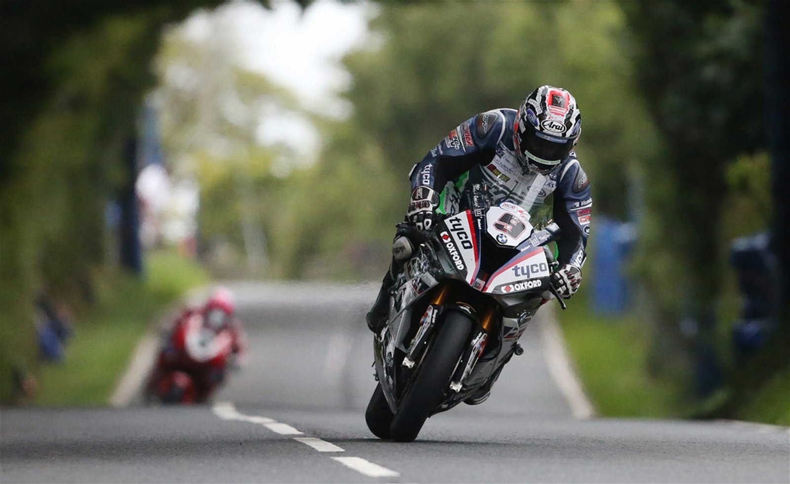 David Johnson impressed before the rain hit the Ulster GP credit Pacemaker Press International