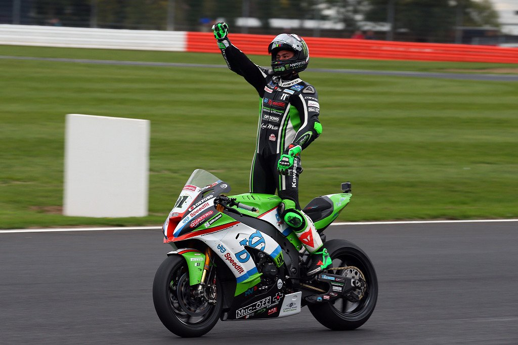 Leon Haslam has the lead credit Tim Keeton, Impact Images Photography