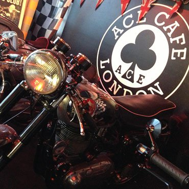 Ace Cafe London image courtesy of Flattrackers and Caferacers Parts and bikebuilds