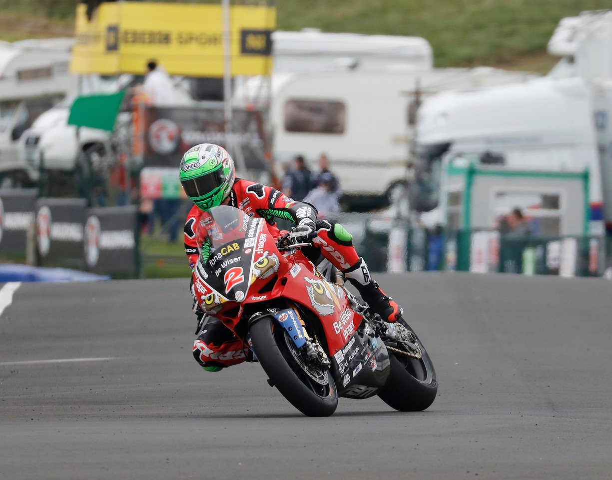 Irwin at North West 200 2018 credit Pacemaker Press International