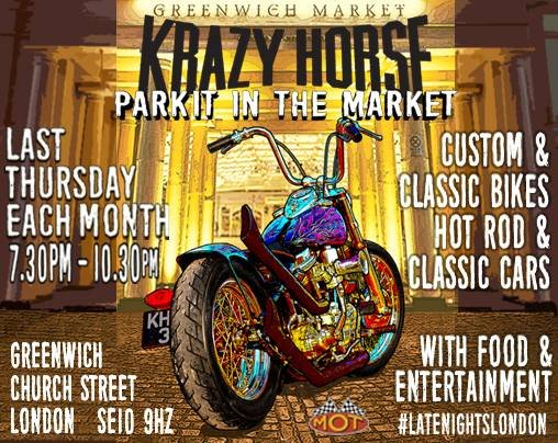 Krazy Horse Park It In The Market