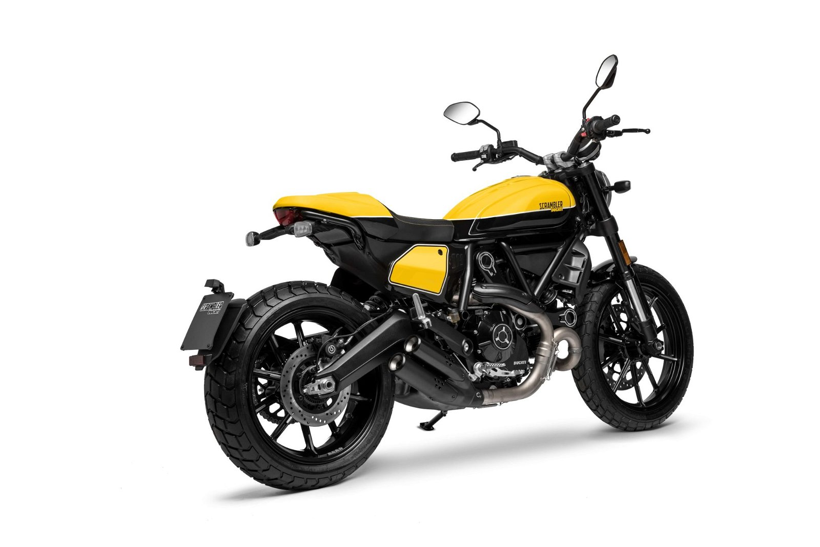 Ducati Scrambler Full Throttle side view