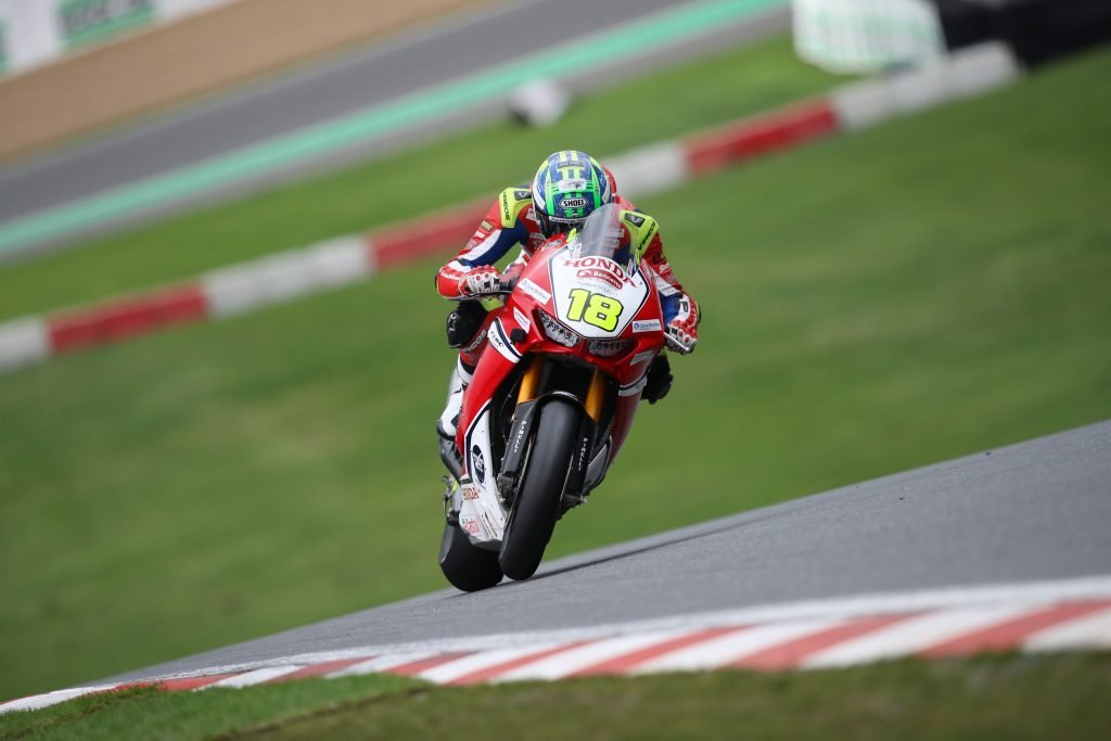 Irwin in action at Brands Hatch BSB