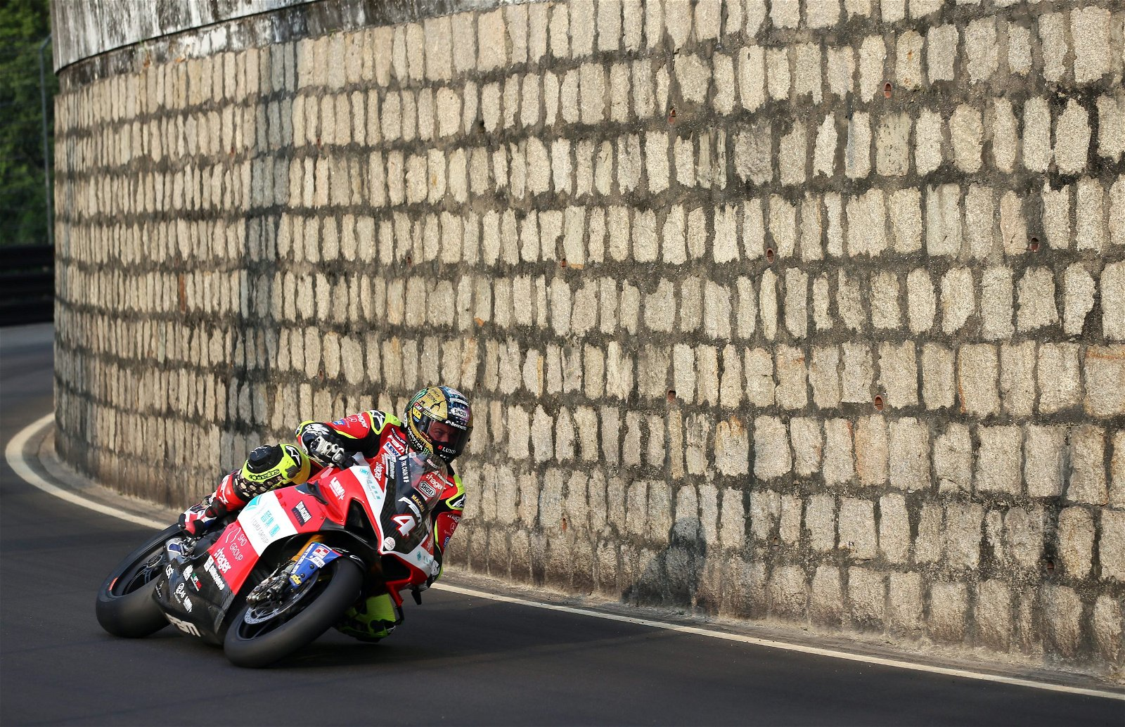 John McGuinness was also part of the Ducati Duo who impressed at Macau GP